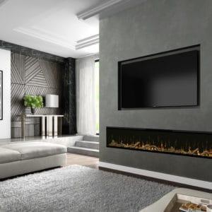"Dimplex IgniteXL 100"" Linear Electric Fireplace 