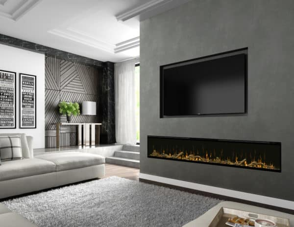 """Dimplex ignitexl 100"""" linear electric fireplace 