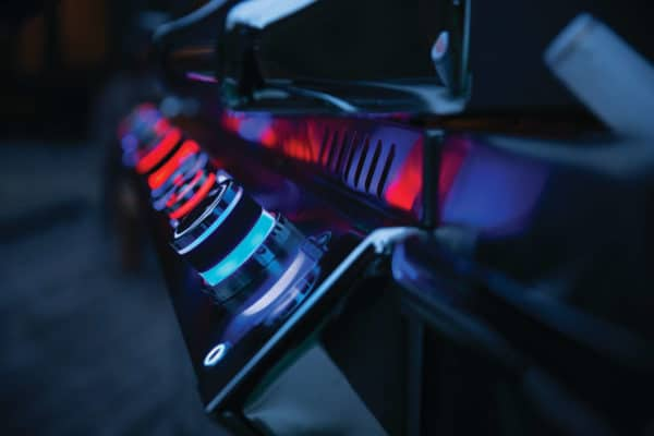 Napoleon prestige pro 825rsbi night light control knobs with safety glow