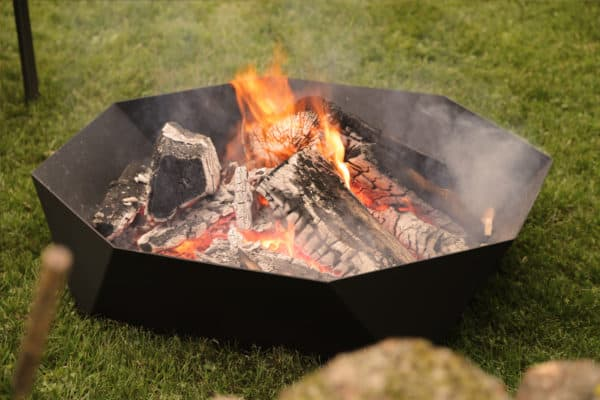 Iron embers cupola fire ring   safe home fireplace: strathroy & london