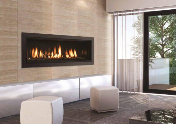 C44 porcelain glass room 1 image on safe home fireplace website