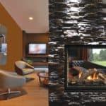Kingsman Gas Fireplace MCVST42NH-MultiSided-OakLog