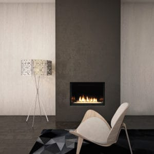 "Marquis Skyline 36"" Gas Fireplace with Glass Media"