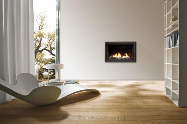 """Marquis skyline 36"""" gas fireplace with driftwood"""