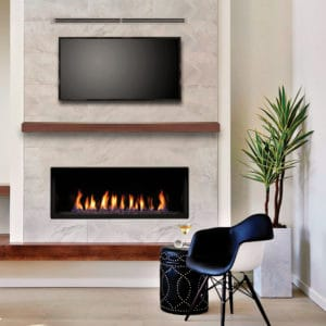"Marquis Serene 47"" Linear Gas Fireplace"