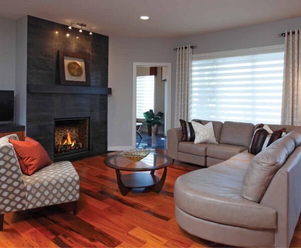 Zcv39nh fivepiecelogset stackedbrick 3 image on safe home fireplace website