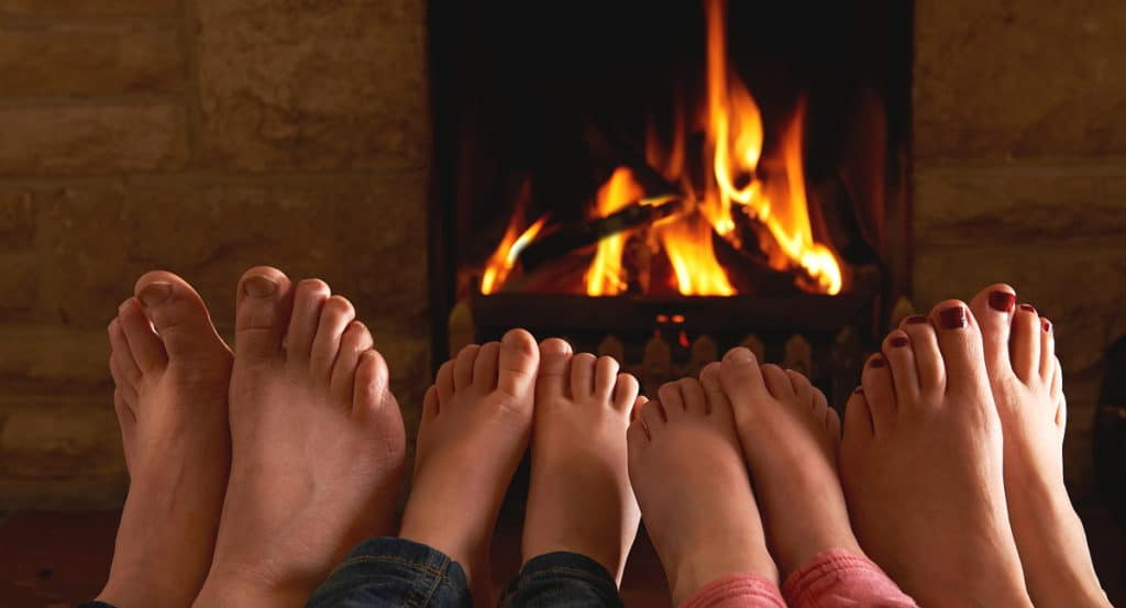Wood fireplace tips