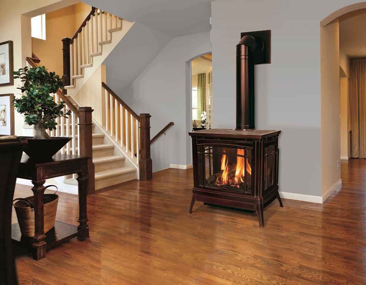 Enviro Berkeley Gas Stove Safe Home Fireplace
