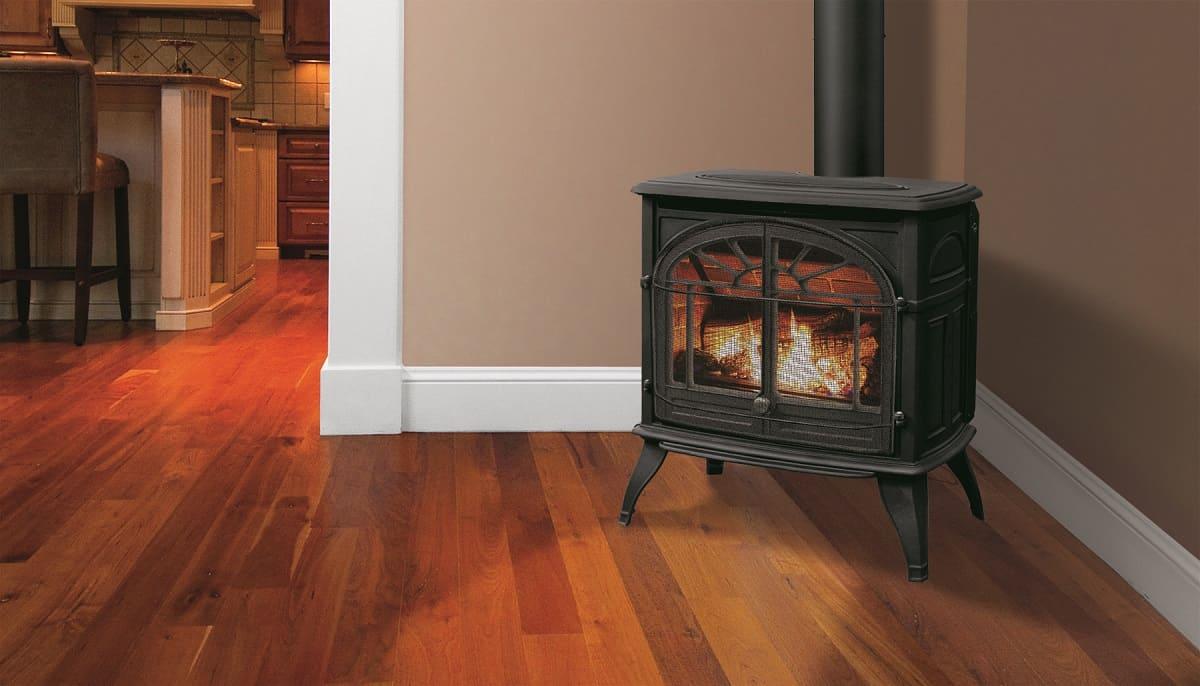 Enviro Westport Cast Iron Gas Stove Safe Home Fireplace