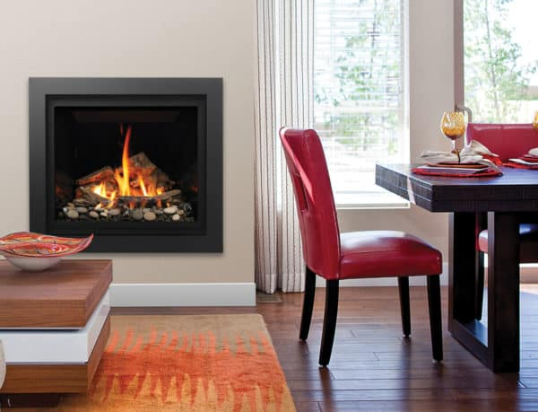 Bentley driftwood stones image on safe home fireplace website