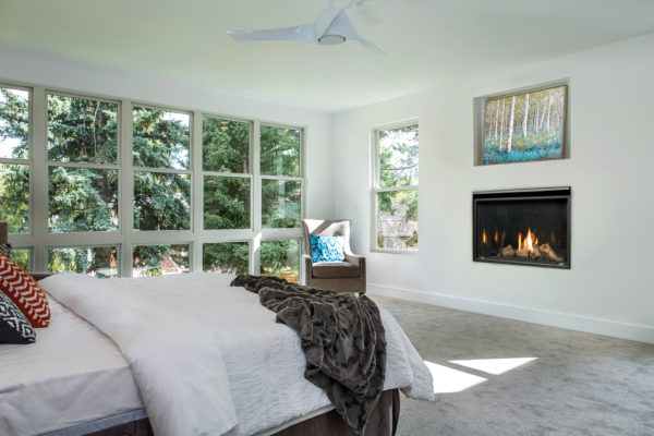 Marquis solara 36 gas fireplace with driftwood