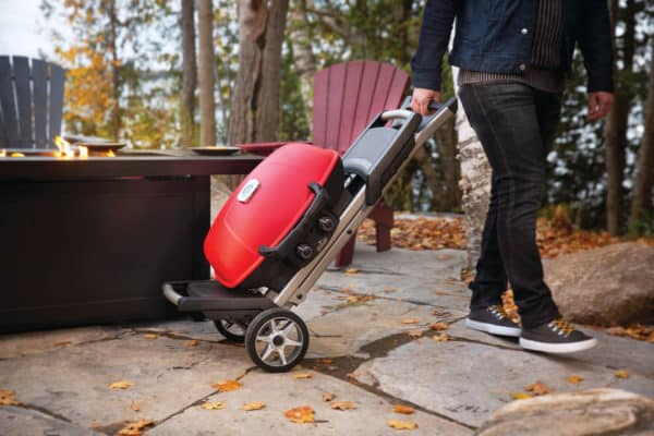 Napoleon travelq 285x with scissor cart | safe home fireplace in london and strathroy, ontario