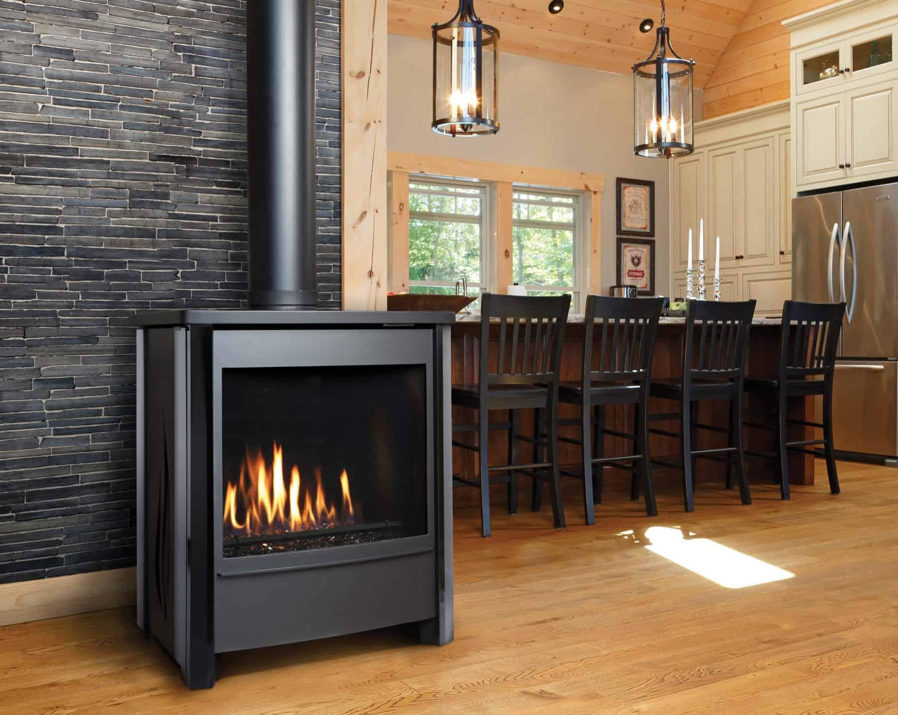 Kingsman Fvd451 Freestanding Gas Stove Safe Home Fireplace