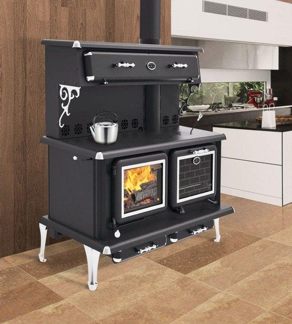 J A Roby Cuisiniere Lx Wood Cookstove Safe Home Fireplace