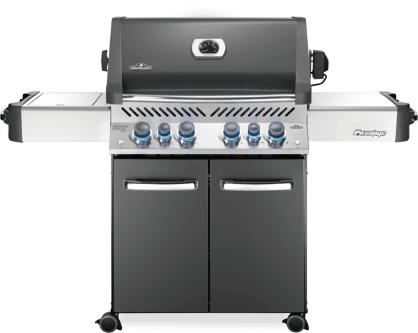 Napoleon prestige 500 with infrared side and rear burners