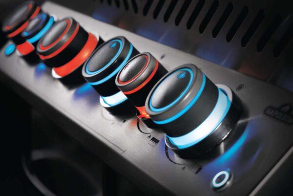 Prestige p500 3 details knobs safetyglow 3 image on safe home fireplace website