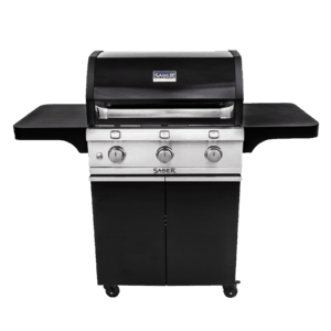 Saber 3-Burner Cast Black Gas Grill