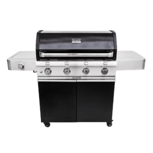 Saber 4-Burner Cast Black Gas Grill