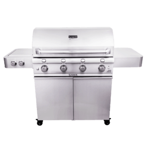 Saber 4-Burner Stainless Steel Gas Grill