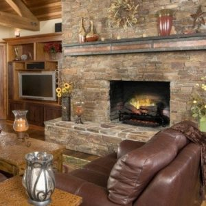 "Dimplex revillusion 25"" plug-in electric log set 