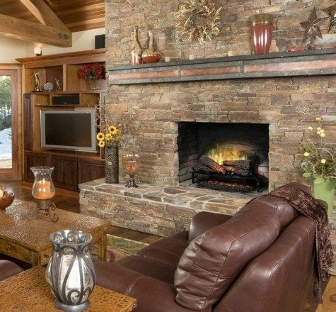 """Dimplex revillusion 25"""" plug-in electric log set 