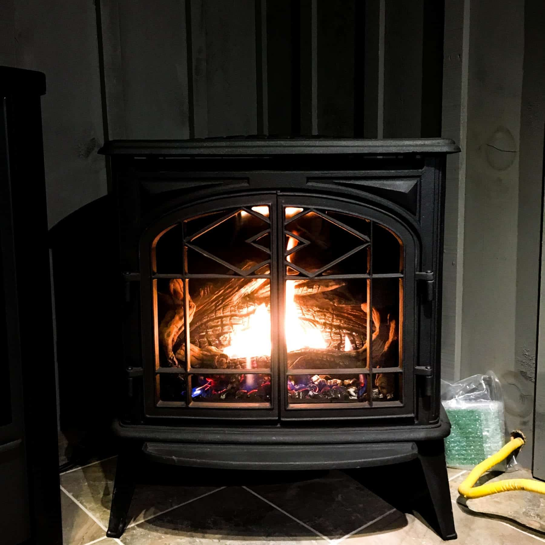 Pacific Energy Trenton Gas Stove Safe Home Fireplace