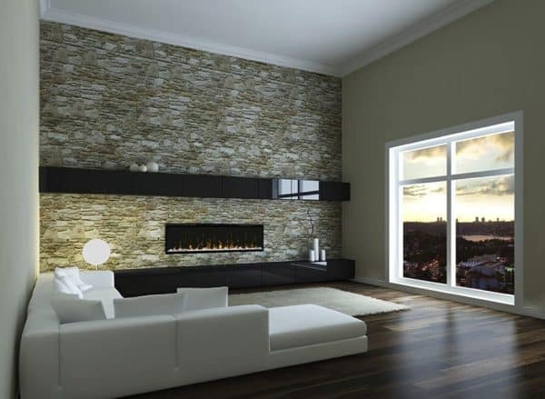 "Dimplex ignitexl 50"" linear electric fireplace 