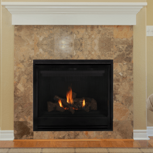 "Astria Aries 35"" gas fireplace 