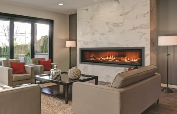 Enviro c72 linear gas fireplace
