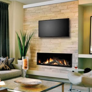 """Marquis Serene 60"""" Linear Gas Fireplace"""