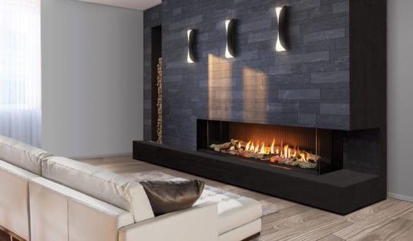 Urbana U70 Multi-Sided Gas Fireplace
