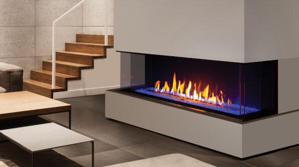 Urbana U70 Gas Fireplace with LED Lights