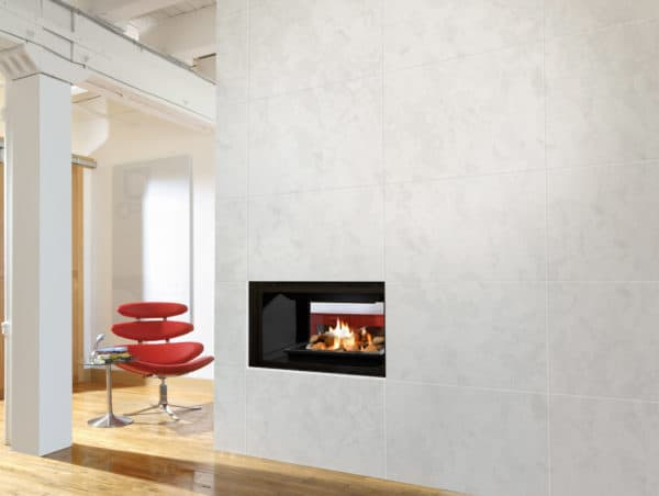 Marquis gemini see through gas fireplace
