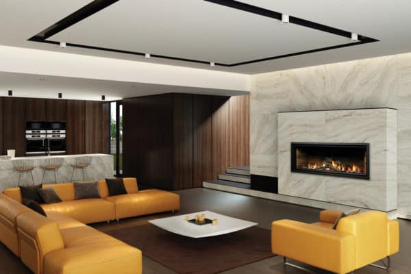 """Marquis Serene 47"""" Linear Gas Fireplace"""