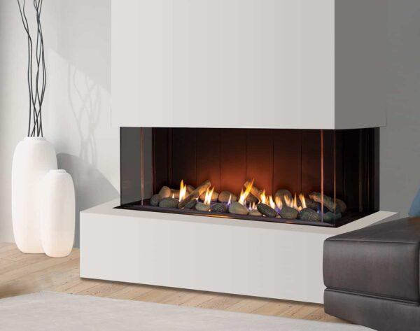 Urbana u50 multi-sided gas fireplace