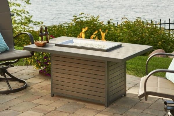 Outdoor greatroom brooks fire pit table | safe home fireplace: london & strathroy ontario