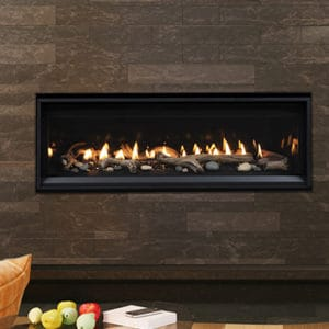"""Astria Compass 45"""" Linear Gas Fireplace 