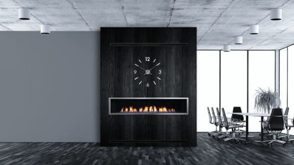 Enclave 72 linear gas fireplace | safe home fireplace in london & strathroy