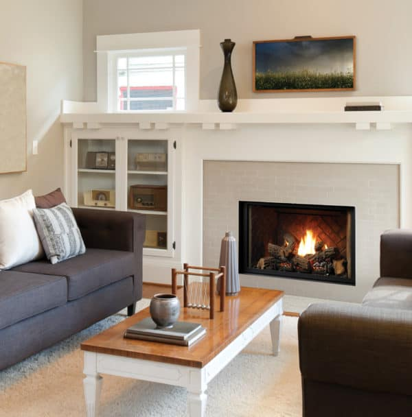 "Marquis solace ii 36"" gas fireplace 