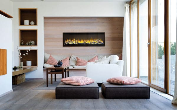 """Alluravision 50"""" linear electric fireplace 
