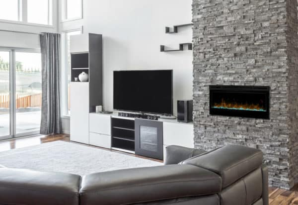 "Dimplex prism 34"" linear electric fireplace 