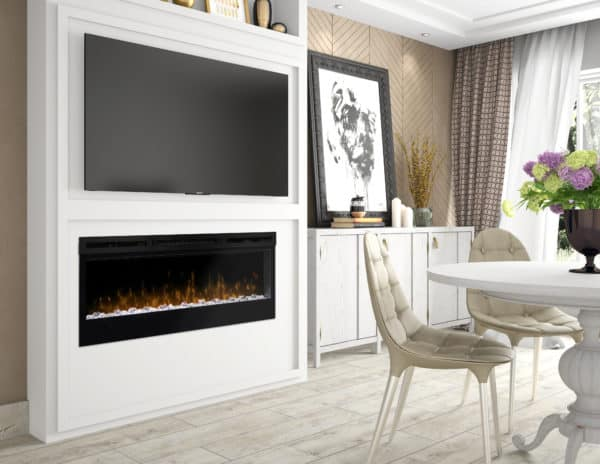 "Dimplex prism 50"" electric fireplace 