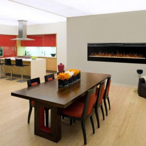 "Dimplex galveston 74"" electric fireplace 