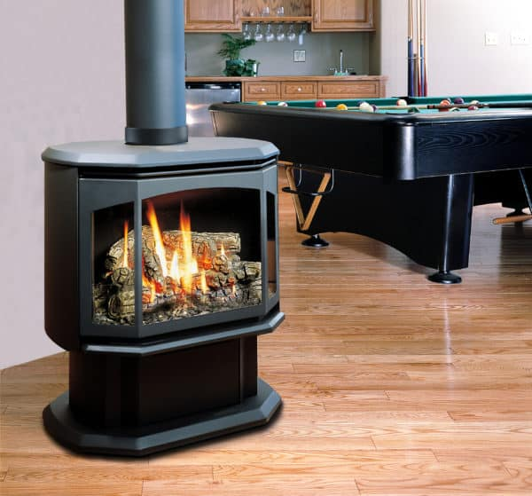 Marquis sentinel freestanding gas stove | safe home fireplace in london & strathroy