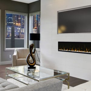 "Dimplex ignitexl 60"" linear electric fireplace 