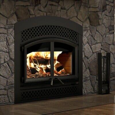 1 image on safe home fireplace website