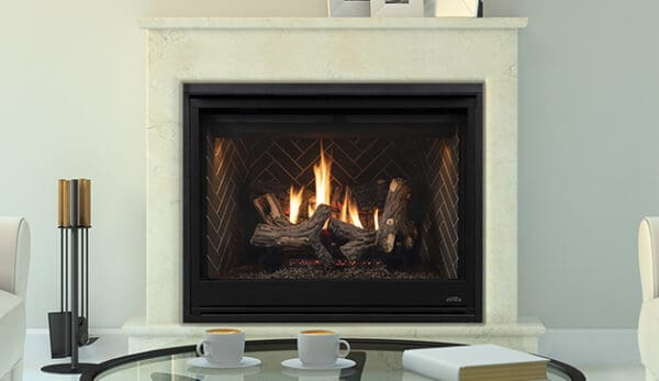 """Astria altair dlx 45"""" gas fireplace 