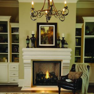 "Astria Montebello DLX 40"" Gas Fireplace | Safe Home Fireplace in London & Strathroy Ontario"