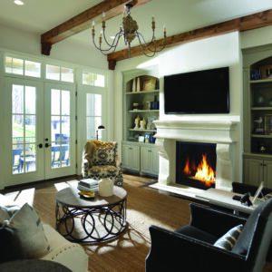 "Astria Montebello DLX 45"" Gas Fireplace | Safe Home Fireplace in London & Strathroy Ontario"