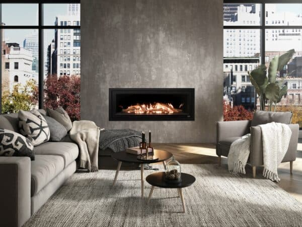 Valcourt l48 linear gas fireplace | safe home fireplace in london & strathroy ontario